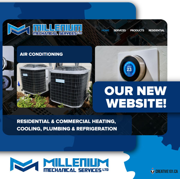 Welcome to Millenium Mechanical Services New Website!